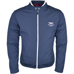 Vêtements Homme Blousons Hackett Veste technique  bleu marine en polyester pour homme Bleu