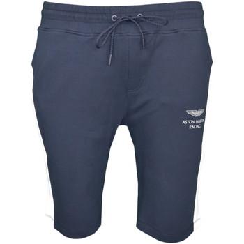 Vêtements Homme Shorts / Bermudas Hackett Short long  Aston Martin bleu marine pour homme Bleu