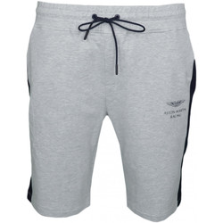 Vêtements Homme Shorts / Bermudas Hackett Short long  Aston Martin gris pour homme Gris