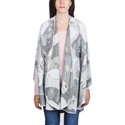Vêtements Femme Pulls Qualicoq Poncho Betsy Gris