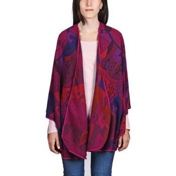 Vêtements Femme Pulls Qualicoq Poncho Betsy Violet