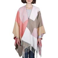 Vêtements Femme Pulls Qualicoq Poncho Wela Taupe