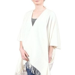Vêtements Femme Pulls Qualicoq Poncho poches Casa Blanc