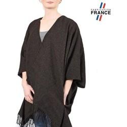 Vêtements Femme Pulls Qualicoq Poncho poches Casa - Couleur - Anthracit Anthracite