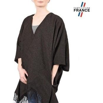 Vêtements Femme Pulls Qualicoq Poncho poches Casa Anthracite