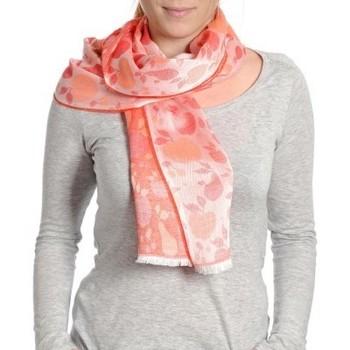 Accessoires textile Femme Echarpes / Etoles / Foulards Qualicoq Echarpe légère Mirepoix - Couleur - Roug Rouge