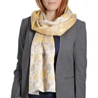 Accessoires textile Femme Echarpes / Etoles / Foulards Qualicoq Echarpe légère Mirepoix - Couleur - Jaun Jaune