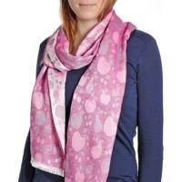 Accessoires textile Femme Echarpes / Etoles / Foulards Qualicoq Echarpe légère Mirepoix - Couleur - Viol Violet
