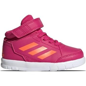 Chaussures Fille Baskets montantes adidas Originals Altasport Mid EL I Rose