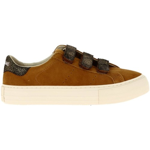 Chaussures Arcade No Suede Basses Name Straps Femme Baskets Safran IYgbyvf76m