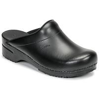 Chaussures Homme Sabots Sanita KARL OPEN Noir