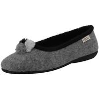 Chaussures Femme Chaussons La Maison De L'espadrille 6186-2 Gris