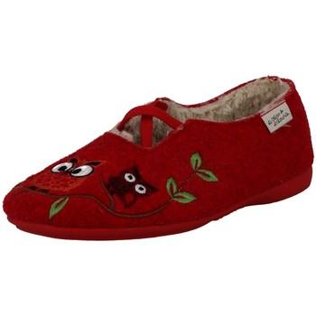 Chaussures Femme Chaussons La Maison De L'espadrille 6007-2 ROUGE