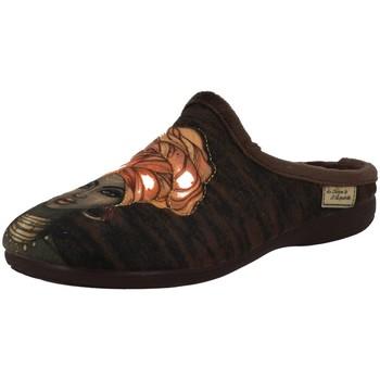 Chaussures Femme Chaussons La Maison De L'espadrille 6756 marron