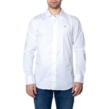 Vêtements Homme Chemises manches longues Tommy Hilfiger DM0DM04405 Blanc