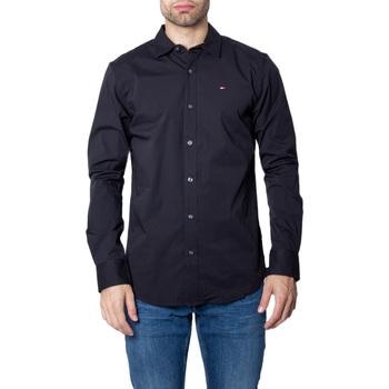 Vêtements Homme Chemises manches longues Tommy Hilfiger DM0DM04405 Noir