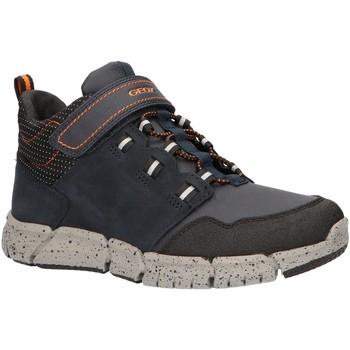 Chaussures Garçon Boots Geox J949XA 0ME32 J FLEXYPER Azul