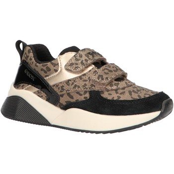 Chaussures Fille Baskets basses Geox J949TB 00422 J SINEAD Gold