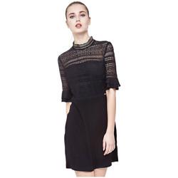 Vêtements Femme Robes courtes Guess Robe Edith Noir 38