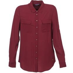Vêtements Femme Chemises / Chemisiers Tommy Hilfiger FEMI Bordeaux
