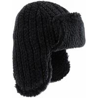 Accessoires textile Bonnets Dandytouch Chapka Tricot Canata Noir
