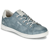 Chaussures Femme Baskets basses Mustang  Bleu