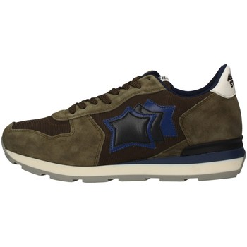 Chaussures Homme Baskets basses Atlantic Stars ANTAR-MAB-09NY VERT MILITAIRE