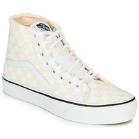 Chaussures Femme Baskets montantes Vans SK8-HI TAPERED Rose / Blanc