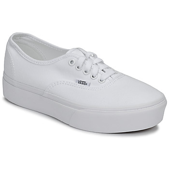 Chaussures Femme Baskets basses Vans AUTHENTIC PLATFORM 2.0 Blanc