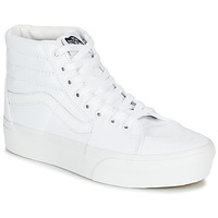 Chaussures Femme Baskets montantes Vans SK8-Hi Platform 2.0 Blanc