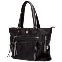 Sacs Femme Cabas / Sacs shopping Girls Power Sac cabas  Shine toile nylon Noir Multicolor