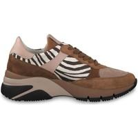 Chaussures Femme Baskets mode Tamaris 23782 Marron