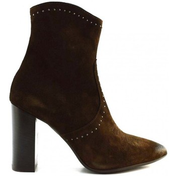 Chaussures Femme Bottines Spazio 08 Adele Marron