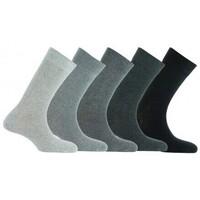Accessoires textile Enfant Chaussettes Kindy Lot de 5 paires de chaussettes camaïeux en coton Gris