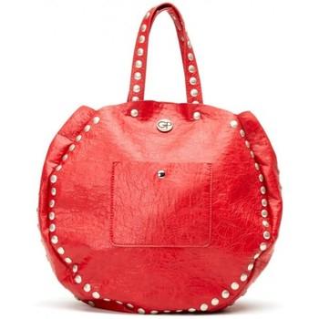 Sacs Femme Cabas / Sacs shopping Girls Power Sac cabas rond  Grunge rouge imitation Multicolor