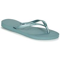 Chaussures Femme Tongs Havaianas SLIM Bleu
