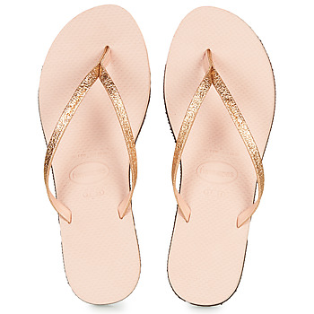 Chaussures Femme Tongs Havaianas YOU SHINE Rose