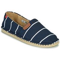 Chaussures Espadrilles Havaianas ORIGINE PREMIUM III Marine / Blanc