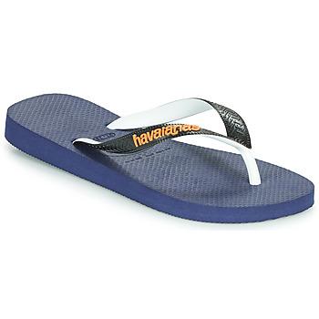 Chaussures Tongs Havaianas TOP MIX Marine / Noir