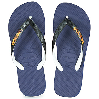 Chaussures Tongs Havaianas TOP MIX Marine / Noir
