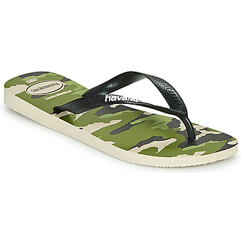 Chaussures Homme Tongs Havaianas TOP CAMU Vert