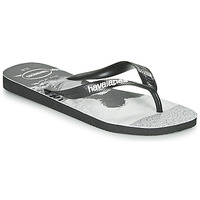 Chaussures Homme Tongs Havaianas TOP PHOTOPRINT Noir / Blanc