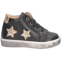 Chaussures Fille Baskets montantes Gioiecologiche 4021 Noir