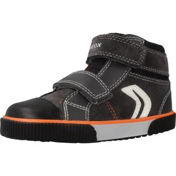 Chaussures Garçon Baskets montantes Geox B KILWI B.C Gris