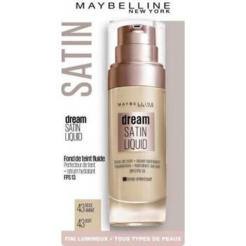 Beauté Femme Fonds de teint & Bases Maybelline New York Fond De Teint DREAM SATIN LIQUID - 43 Beige Ambré Autres
