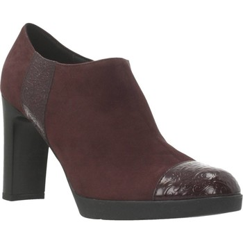 Chaussures Femme Low boots Geox D ANNYA HIGH Rouge
