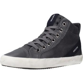 Chaussures Garçon Baskets montantes Geox J ALONISSO BOY Gris