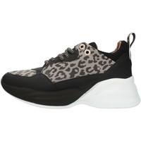Chaussures Femme Baskets basses Alexander Smith S73696 Gris et noir