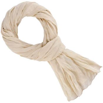 Accessoires textile Echarpes / Etoles / Foulards Allée Du Foulard Chèche coton uni Beige