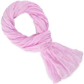 Accessoires textile Echarpes / Etoles / Foulards Allée Du Foulard Chèche coton uni Rose